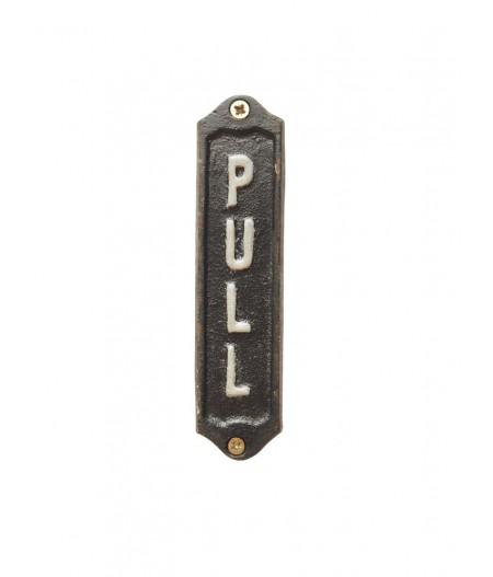 Petite plaque 'Pull' - Chehoma