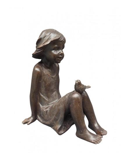 La petite fille à l'oiseau - Chehoma