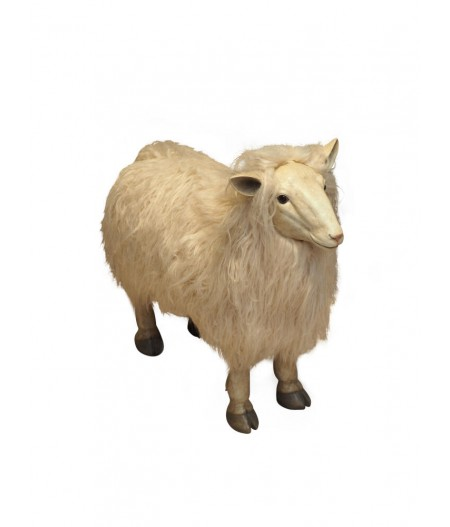 Grand mouton en résine - Chehoma