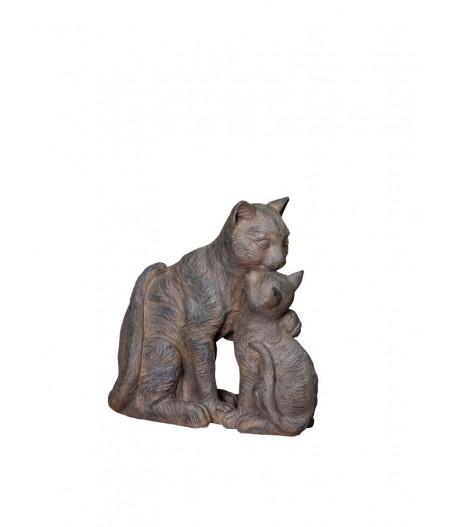Chatte et son petit - Chehoma