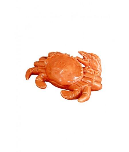Crabe vernissé Terracotta –- Chehoma