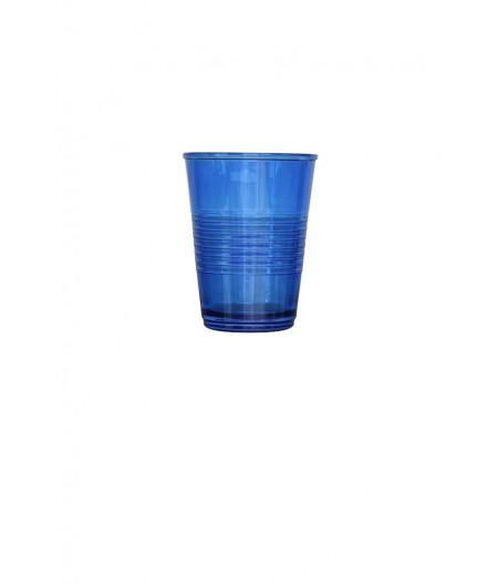 Gobelets en verre bleu - Chehoma