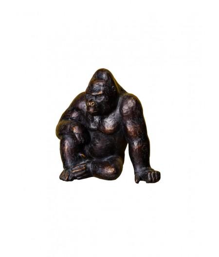 Kingkong assis résine - Chehoma