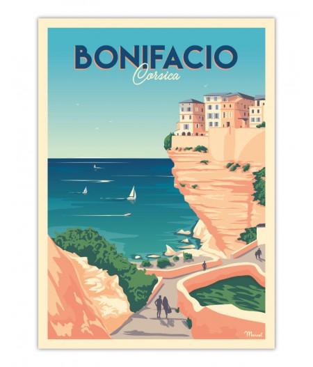 Affiches Marcel Small Edition - Bonifacio 30x40cm 350 g/m