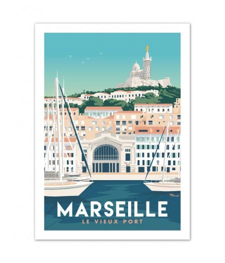 Cartes Postales Marcel MARSEILLE 400g/m²