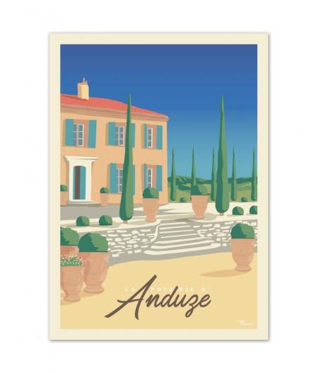 Affiches Marcel Small Edition - ANDUZE La Poterie 30x40cm 350 g/m