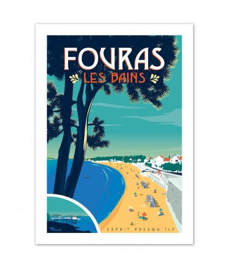 Affiches Marcel Small Edition - FOURAS 30cm x 40cm 350 g/m²