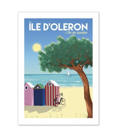 Affiches Marcel Small Edition - ILE DOLERON Lîle de lumière 30cm x 40cm 350 g/m²