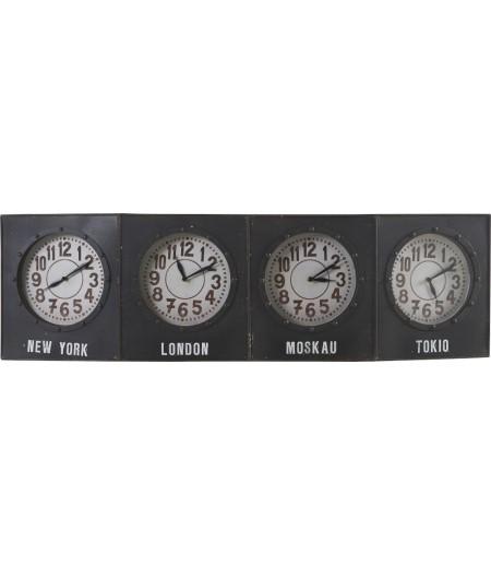 Horloge City 4 fuseaux – Athezza