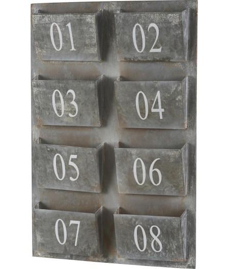 Porte Lettres 46.3 x 6 x H.69cm - Athezza