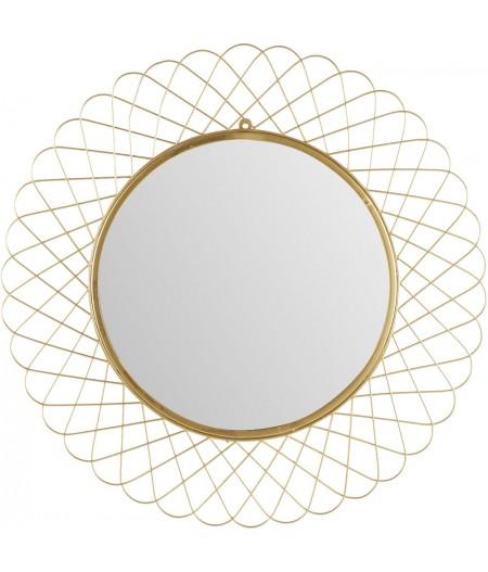 Miroir Rosa Doré D90cm - Athezza