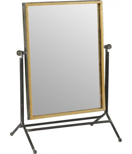 Miroir A Poser Métalo 32.5x21xH44cm - Athezza