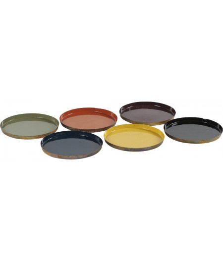 Plateaux Colors D35cm - Athezza