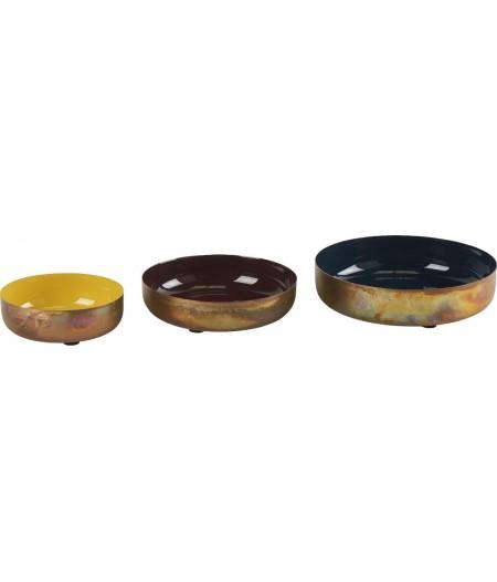 Coupes Colors Lot de 3 D18,5/15,5/12cm - Athezza
