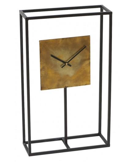 Horloge Carré D'or 33x12xH55cm - Athezza