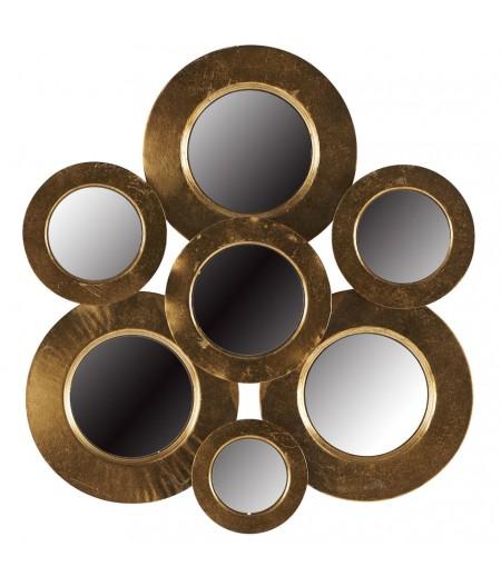 Miroir Compil 7 pièces 59.5 x 63.5 cm - Athezza