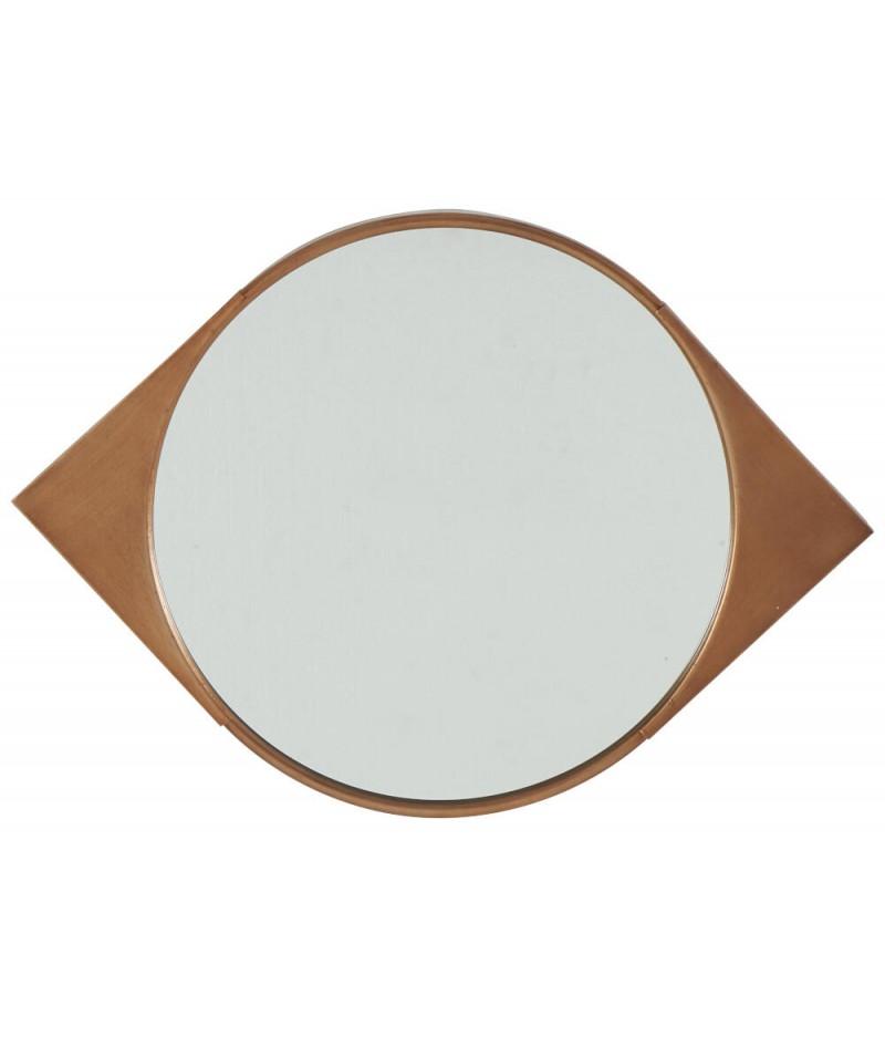 Miroir Eyes Cuivré 46,5x46,5cm - Athezza