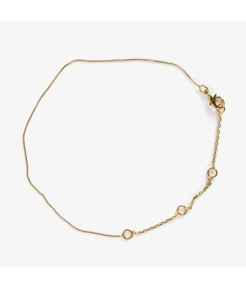Bracelet chaine dorée - Le Bijou de Mimi