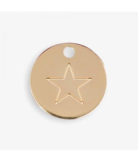 Médaille dorée Etoile - Le Bijou de Mimi