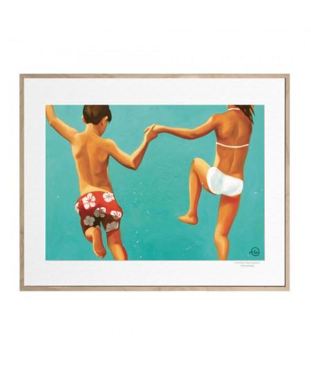 40x50 cm Emilie Arnoux 036 Up - Affiche Image Républic