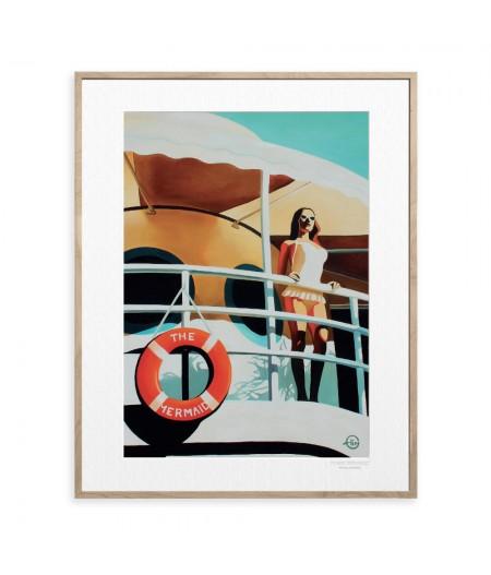 40x50 cm Emilie Arnoux 033 The Mermaid - Affiche Image Républic