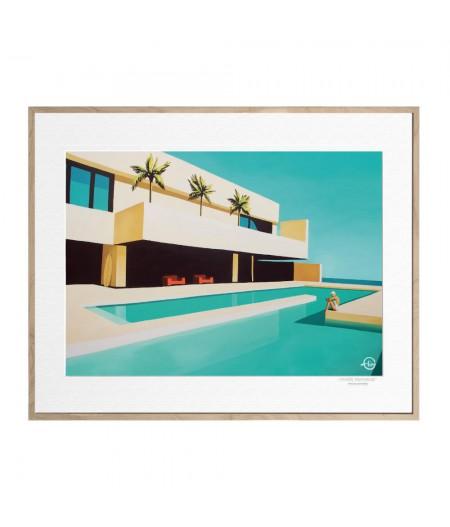 40x50 cm Emilie Arnoux 026 Plenitude - Affiche Image Républic