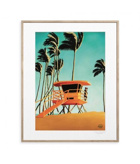 40x50 cm Emilie Arnoux 025 Pinapple Feel - Affiche Image Républic