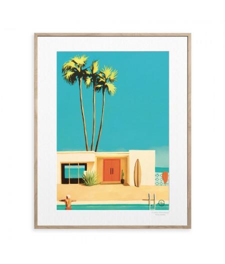 40x50 cm Emilie Arnoux 023 Ocean Door - Affiche Image Républic