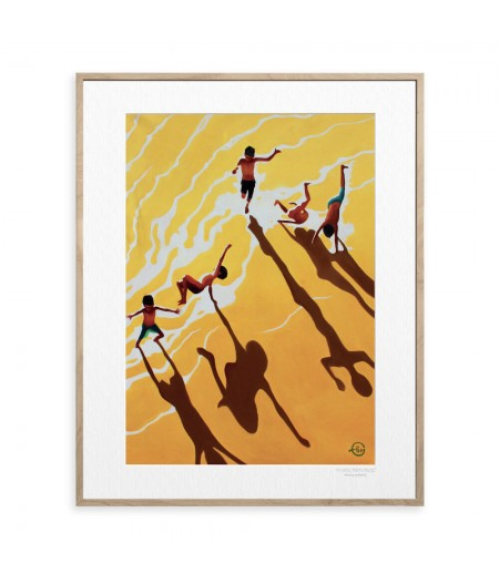 40x50 cm Emilie Arnoux 018 Light ChilDS - Affiche Image Républic