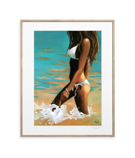 40x50 cm Emilie Arnoux 016 Le Bracelet - Affiche Image Républic