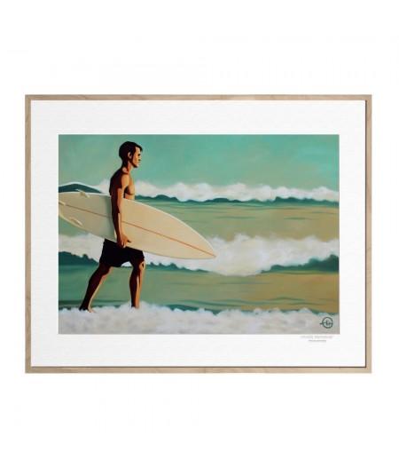 40x50 cm Emilie Arnoux 013 Just Quiet - Affiche Image Républic