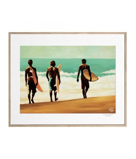 40x50 cm Emilie Arnoux 009 Endless Summer - Affiche Image Républic
