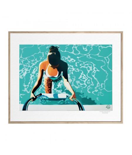 40x50 cm Emilie Arnoux 008 Emergence - Affiche Image Républic
