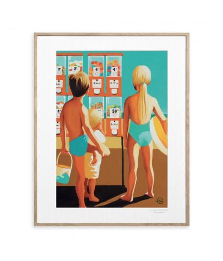 40x50 cm Emilie Arnoux 006 Distribs - Affiche Image Républic