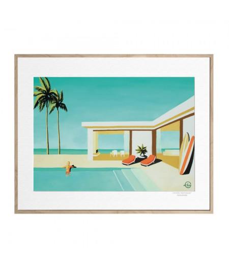 40x50 cm Emilie Arnoux 002 Annabelle Sought - Affiche Image Républic