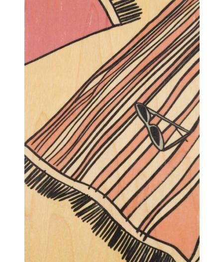 Cartes Postales en bois Woodhi - Holidays Towel
