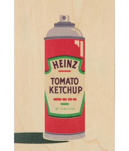 Cartes Postales en bois Woodhi - Brand Mix Heinz