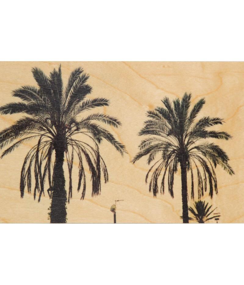Cartes Postales en bois Woodhi - Photos Palm