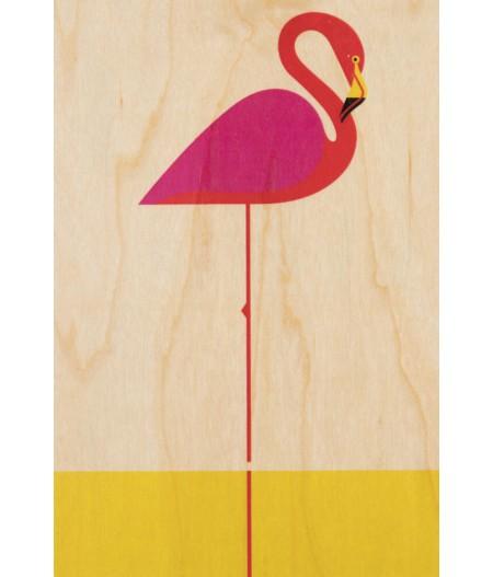 Cartes Postales en bois Woodhi - Miami Miamingo