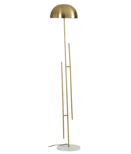 Lampadaire Moten Brass 30x30xH158cm - Athezza