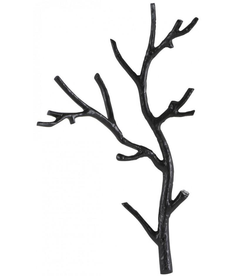 Patère Branche Noire 63x55x25cm - Athezza