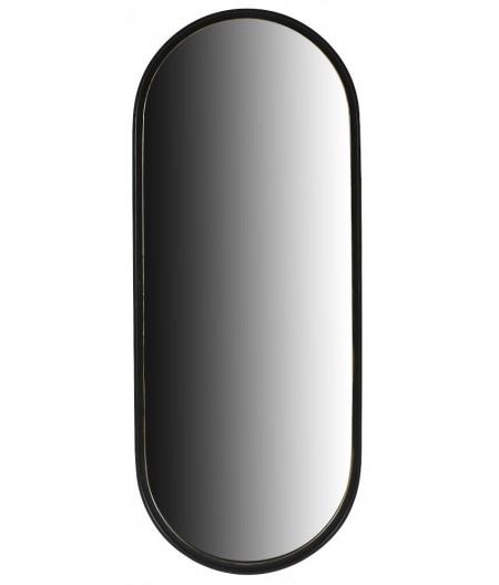 Miroir Domus Noir 38,5xH96,5cm - Athezza
