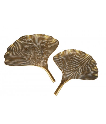 Feuille Gingko Set/2 58.5x49.5cm - Athezza