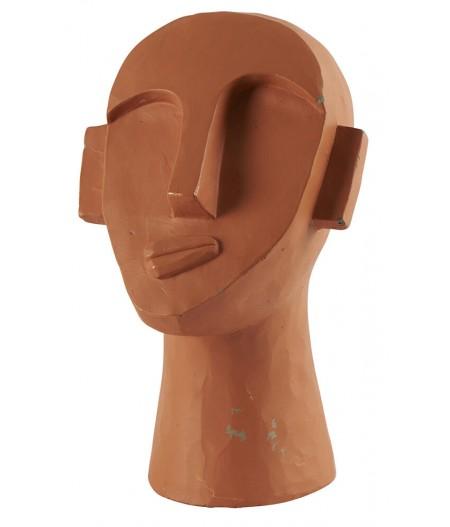 Tête Moai 17.5x17.5xH29.5cm - Athezza