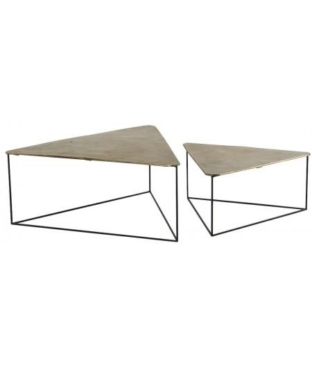 Table Basse Triangle Ibiza Set/2 119x114xH48cm - Athezza