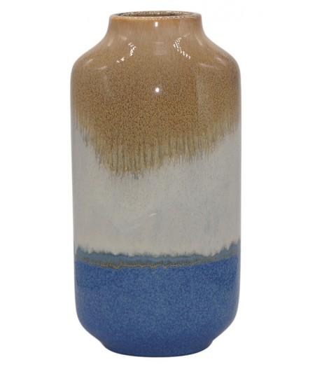 Vase Fuji Bleu 11.7xH33cm - Athezza