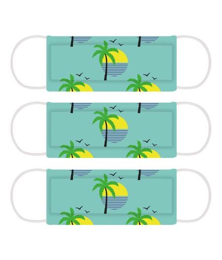 3 Masques Cabaïa Miami Vibe Palmier