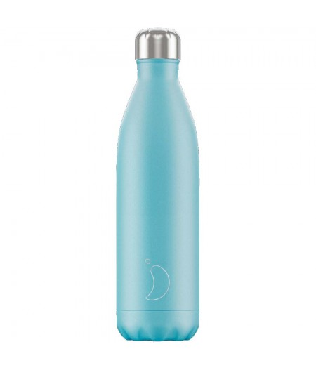 Gourde Thermos Pastel 750ml Blue - Chilly's Bottle