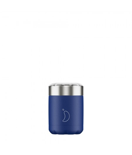 Food Pot 300ml Matte Blue Chilly's Bottles
