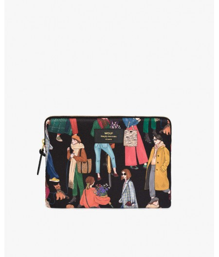Housse iPad Girls iPad Sleeve - Wouf